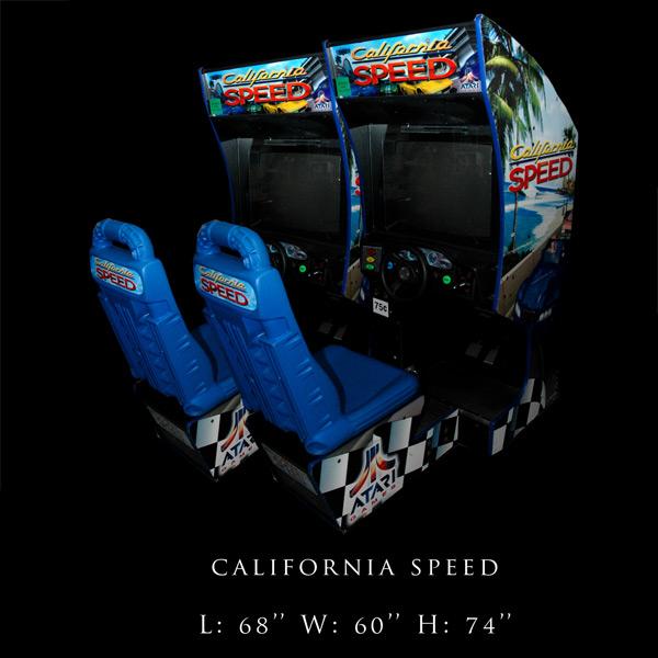 california speed arcade